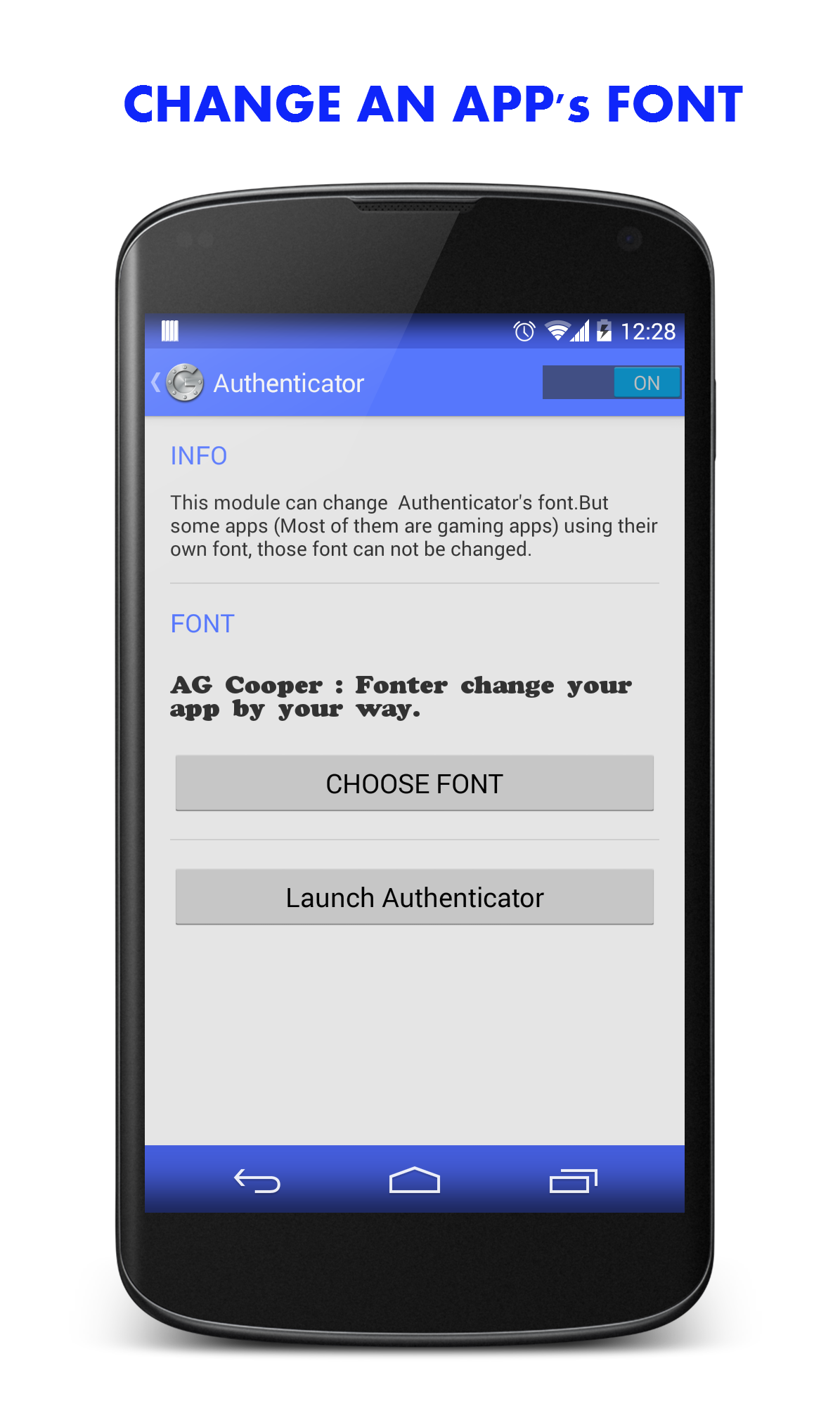 Fonter - Android font manager | Xposed Module Repository